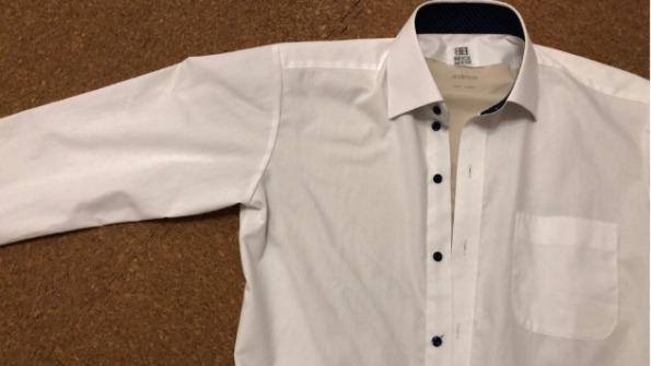 シャツを着ても線が浮き出ないエアリズム